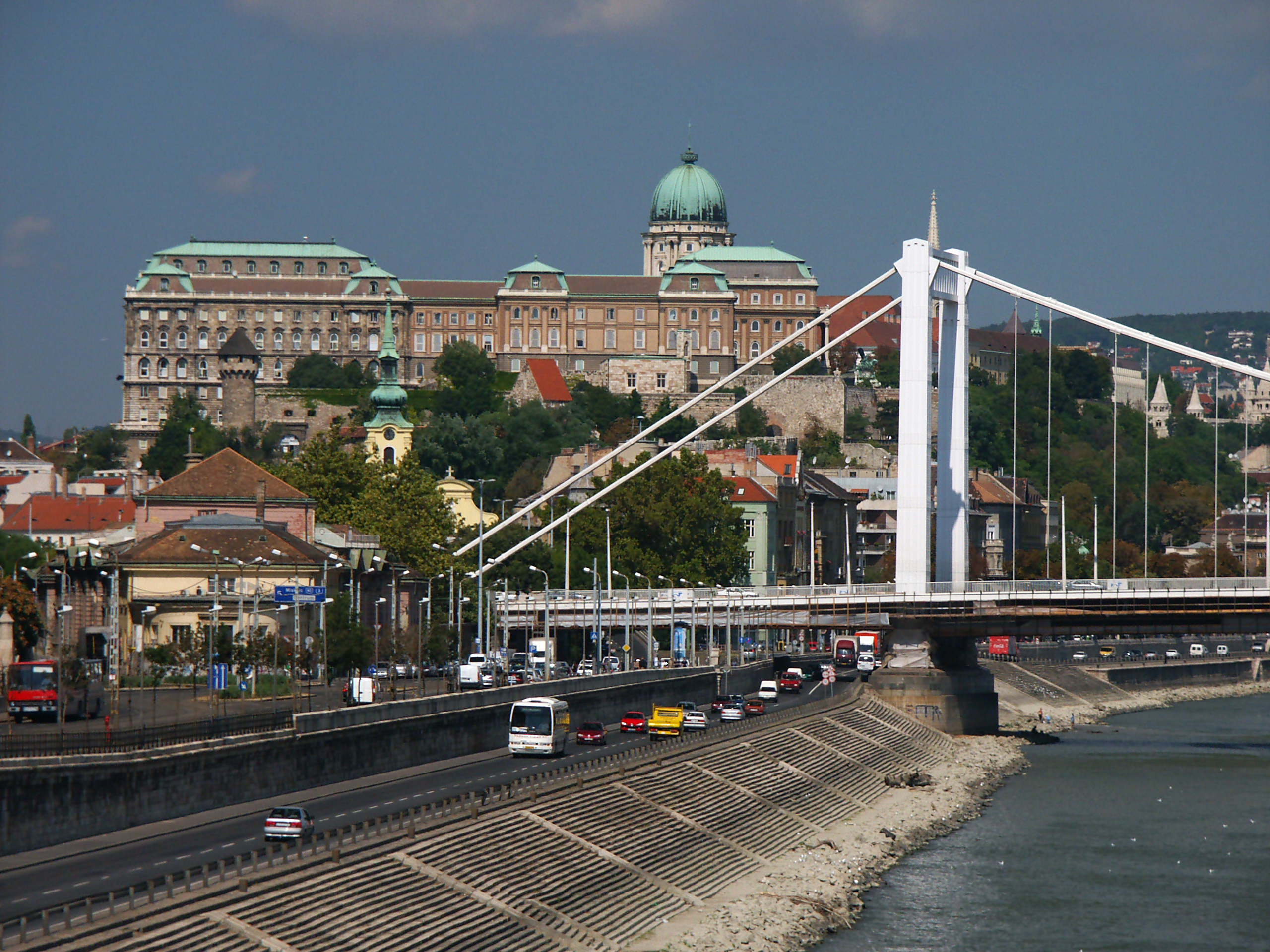 Buda Castle and Elizabet Bridge